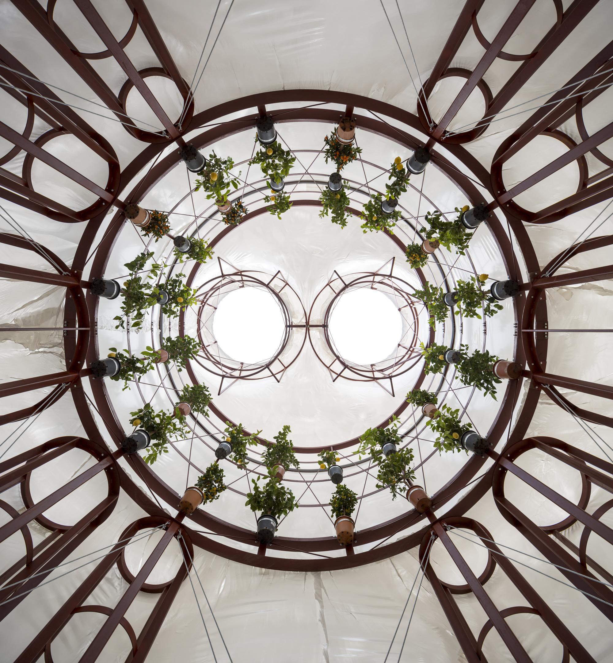 Lenschou Pihlmann pavillon i gl. holtegaards barokhave