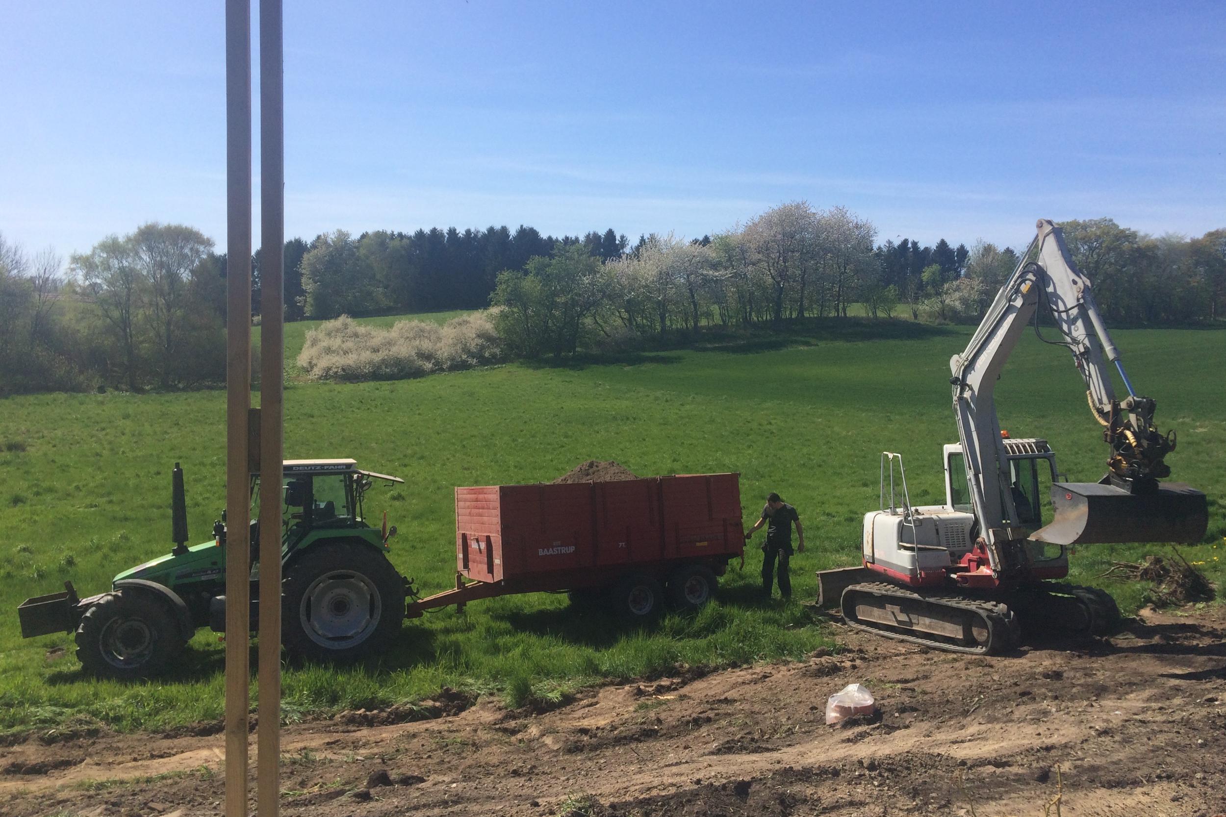 Nina Marquardsen - Haveprojekt og jordarbejde
